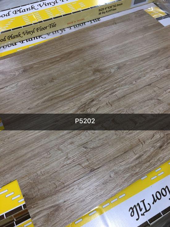Sàn nhựa TAIWAN - Sàn nhựa Vinyl vân gỗ 6