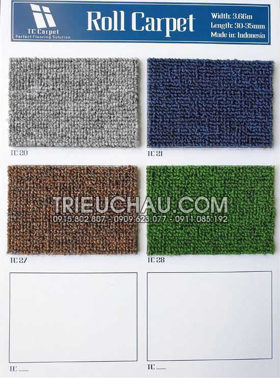 Hình ảnh thảm trải sàn Roll Carpet 2